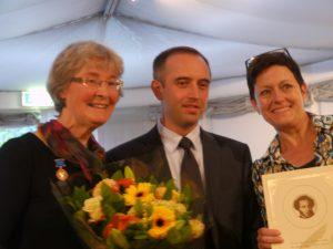 Laureaten van de Maprjal Poesjkinmedaille met Yury Uraksin 20150926